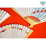 Decorating Chinese Paper Fans