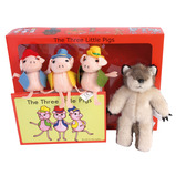 THREE LITTLE PIGS STORY SET