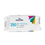 Consortium Skin Cleansing Dry Wipes