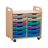 PLAYSCAPES TRAY 2 CLMN 4 4 BLUE