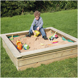 Wooden Sand Boxes and Planters