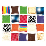 Find the Match Fabric Sensory Beanbags
