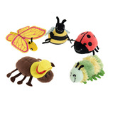 FINGER PUPPETS MINI BEASTS SET OF 6