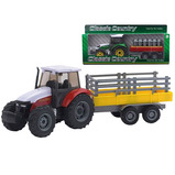 Diecast Tractor and Trailer