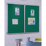 FlameShield Tamperproof Corridor Noticeboards