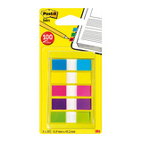 POST-IT INDEX SMALL TABS ASTD PK100