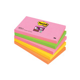 POST-IT S/STICKY BRIGHT 76X76MM PK5