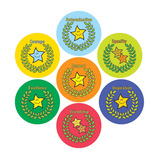 Sparkling Cups of Success Stickers