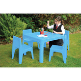 BIG DEAL Jolly Kidz Resin Table & Chair Bundle Set