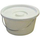 COMMODE BUCKET AND LID