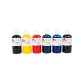 GLASCOL PAINT 6 X 150ML ASSTD