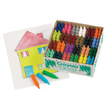 CRAYOLA MY FIRST CRAYONS PK144