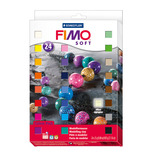 FIMO SOFT 24 ASSORTED COLOURS
