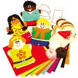 GLOVE PUPPETS MULTICULTURAL PACK 16