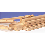 SQUARE SECT WOOD 10MM X 600MM PK100