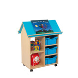 THE BOOK HOUSE 910X568X1011MM BLUE