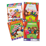 FINGER PUPPETS PACK OF 4 SETS