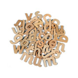 WOODEN LETTERS LOWERCASE PACK OF 60