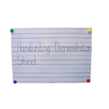 Handwriting Demonstration Sheet
