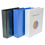 DISPLAY BINDER 4RG A4 25MM BLUE