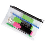 PENCIL CASE CLEAR PVC PACK OF 36