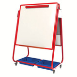 MOB MAG DISP STOR EASEL SNG SIDE RED