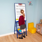 SNG BRD A FRAME 600X900MM EASEL RED