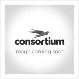 COLOURED EDGE BOOKCASE 5 SHELVES RED