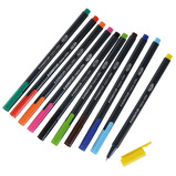 STAEDTLER TRI-PLUS R/BALL AST PACK10