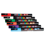 POSCA MARKERS MEDIUM ASSTD PACK OF 5