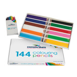 CONSORTIUM COLOURING PENCIL PACK 24