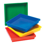 GRATNELLS TRAY A3 457X482X84MM GREEN