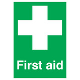 FIRST AID SIGN 297X420MM