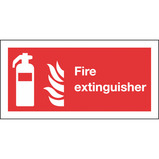 200X400MM FIRE EXTINGUISHER SIGN