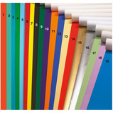 POSTER PAPER  510X760MM SILVER PK25