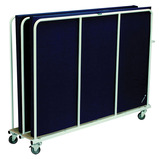 Harrod Vertical Mat Trolley