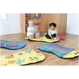 UNDER THE SEA SNUGGLE MAT PK4