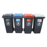 RECYCLING WHEELIE BIN 120L PAPER