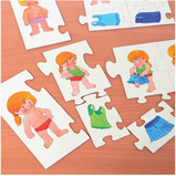 GETTING DRESSED SEQUENCING PUZZLE