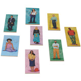 PEOPLE PUZZLES SET OF 24
