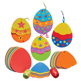 Triple Egg Decorations