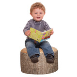 PACK OF 3 SMALL TREE STUMP STOOLS
