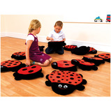 Back To Nature™ Ladybird Counting Story Cushions
