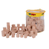 Foam Wood-Like Soft Building Blocks