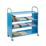 CALLERO TILT SHELF LIBRARY UNIT