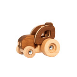 Natural Wooden Tractor