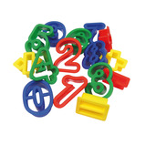 Letters & Numbers Dough Cutters