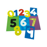 NUMBER STENCILS - 0-9 PACK OF 10