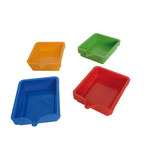 PAINT SAVER TRAYS - WHITE PK 4