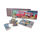 Ambulance and Fire Station Puzzles